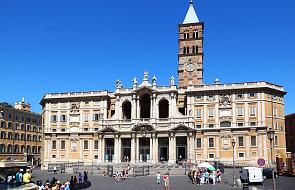 Rzym: papież po raz 41 w bazylice Matki Bożej Większej