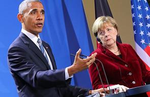 Obama chwali Merkel i ostrzega przed Rosją
