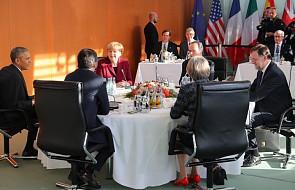 Obama spotkał się z przywódcami pięciu krajów UE