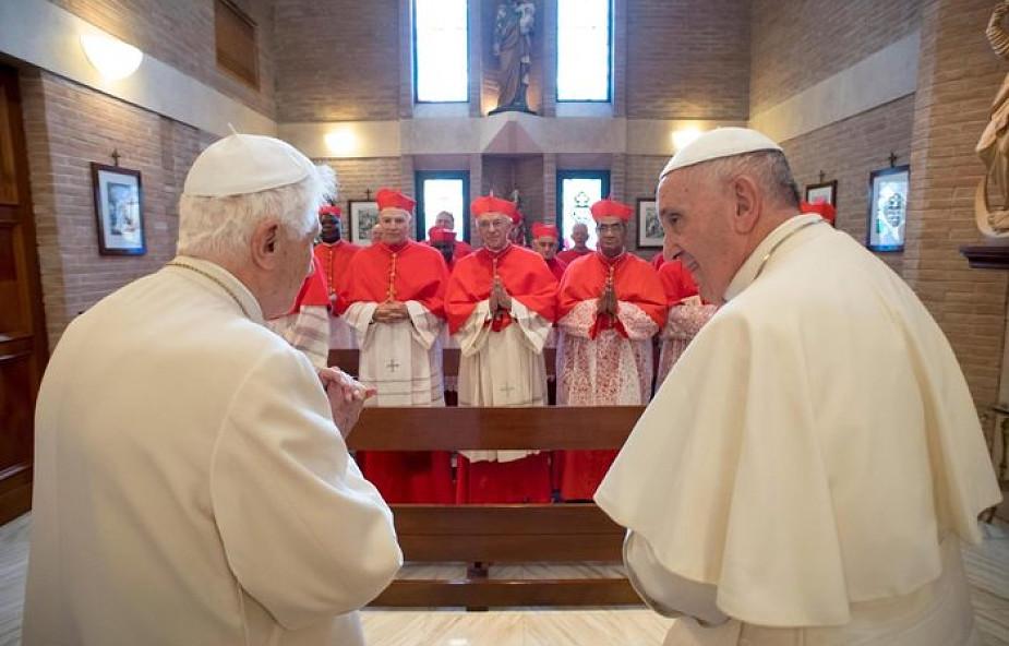 Nowi kardynałowie spotkali się z Benedyktem XVI