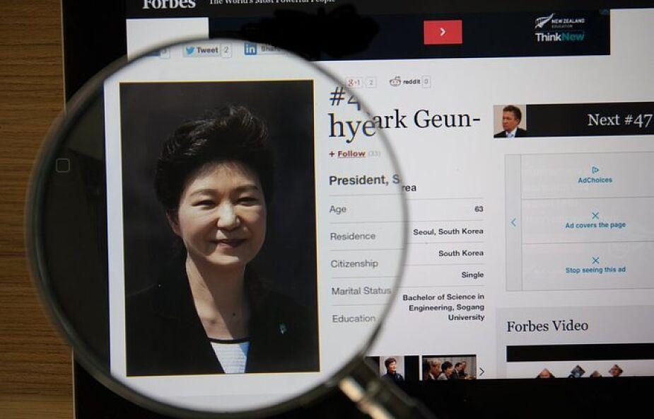 Korea Płd: prezydent zamieszana w skandal korupcyjny