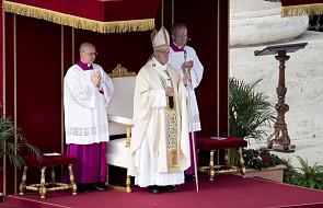 Papież: Rok Miłosierdzia zbliżył wielu ludzi do Kościoła