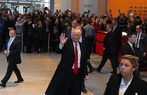 Trump kompletuje zespół i wzywa do jedności