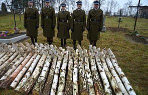 Pochówek żołnierzy poległych w rejonie Lwowa