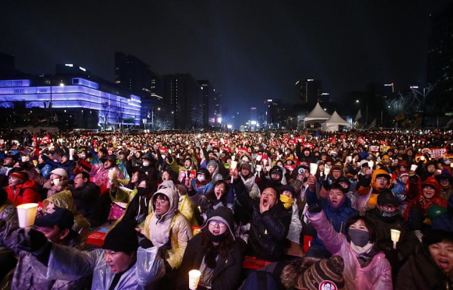 Ponad milion osób w proteście przeciwko prezydent Korei Płd.