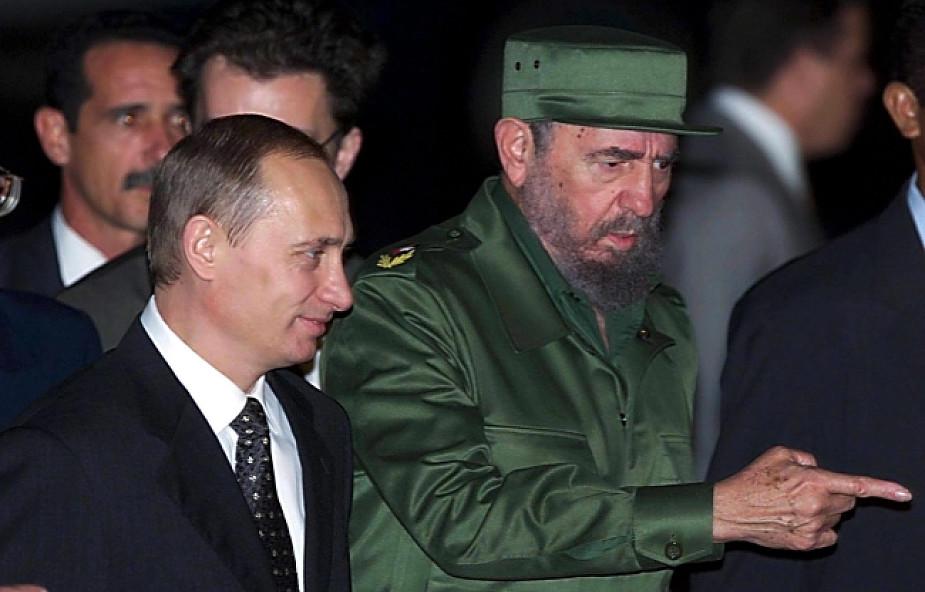 Putin: Fidel był niezawodnym przyjacielem Rosji