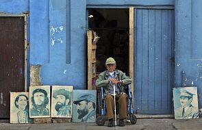 Figurka Fidela Castro w szopce w Neapolu