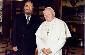 Fidel Castro i jego spotkania z trzema papieżami