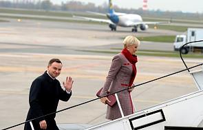 Para prezydencka udaje się z wizytą do Jordanii