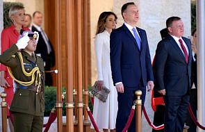 Rozpoczęła się wizyta Prezydenta Andrzeja Dudy w Jordanii