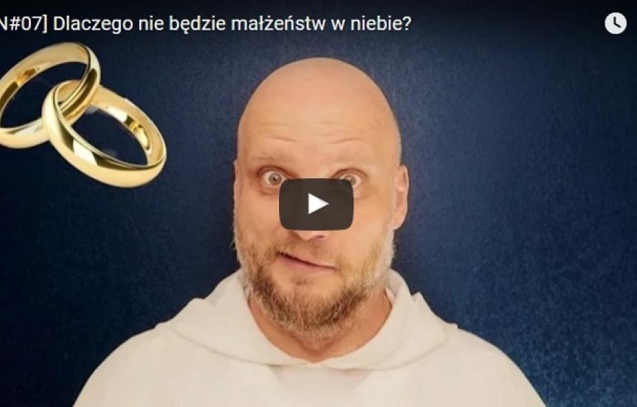 Adam Szustak OP: dlaczego w niebie nie będzie małżeństw? [WIDEO]