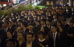 Hongkong: marsz milczenia prawników przeciwko decyzji Chin
