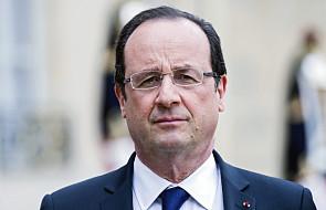 Hollande nie będzie ubiegał się o reelekcję