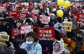 Korea Płd.: demonstracja w Seulu przeciwko prezydent Park