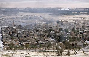 W pobliżu Palmiry mogło dojść do ataku gazowego