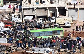 Ponad 50 tys. ludzi czeka na ewakuację z Aleppo