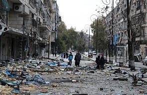 """Syria: ewakuacja Aleppo została wstrzymana """"z powodu utrudnień"""""""