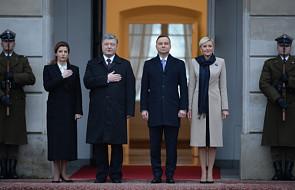 Prezydent Ukrainy rozpoczął wizytę w Warszawie