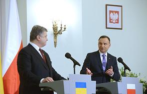 Duda do Poroszenki: cały czas stoimy przy Ukrainie