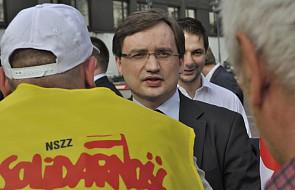 Ziobro o wydarzeniach przed Sejmem: nie będzie tolerancji dla przemocy