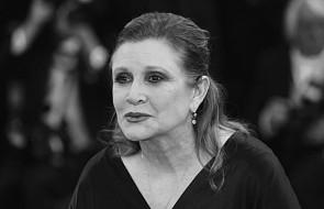 """Zmarła Carrie Fisher, bohaterka """"Gwiezdnych wojen"""""""