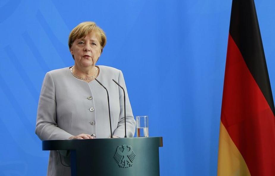 Merkel na Nowy Rok: Niemcy są silniejsze od terrorystów