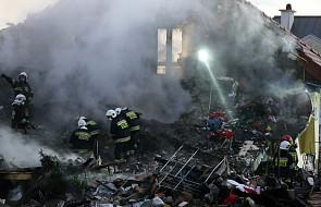 Wybuch w Łomiankach, poszukiwania jednej osoby