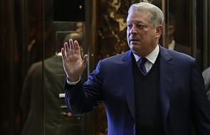 Trump rozmawiał z Al Gorem o globalnym ociepleniu