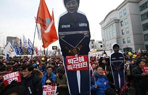 Prezydent Korei Płd. odejdzie w kwietniu