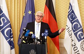 Steinmeier apeluje do Ławrowa o współdziałanie