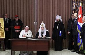 Pełna treść deklaracji papieża i patriarchy
