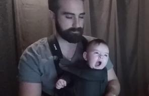 Jak uśpić dziecko w kilka sekund [WIDEO]