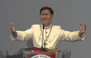 Kard. Tagle z Filipin na Zjeździe Gnieźnieńskim