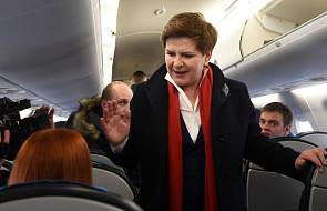 Premier Szydło odwiedzi Paryż i Londyn