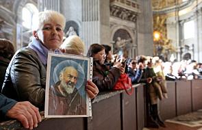 Nieoczekiwana wizyta papieża wśród czcicieli o. Pio