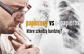 E-papierosy czy zwykłe? Naukowcy zbadali, co jest bardziej szkodliwe