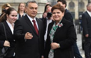 Premier Beata Szydło przybyła na Węgry