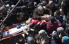 Starcia sił izraelskich z Palestyńczykami