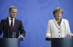 """O """"starciu"""" Tuska z Merkel w Brukseli ws. imigrantów"""