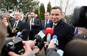 Prezydent Duda udaje się z dwudniową wizytą do Czech