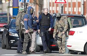 Strzały podczas rewizji w domu w Brukseli