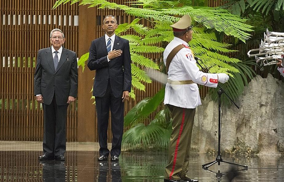 Kuba: rozpoczęło się spotkanie Obama-Castro