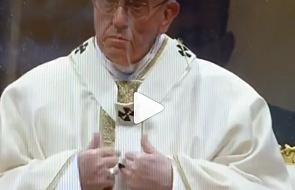 Tak reaguje papież, gdy ktoś mu czegoś odmawia [WIDEO]