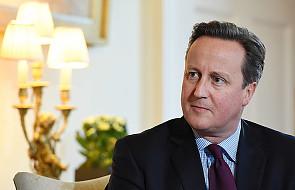 Cameron: musimy bronić naszych chrześcijańskich wartości