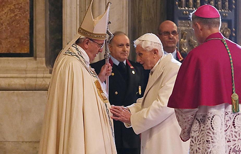 Papież Franciszek odwiedził Benedykta XVI