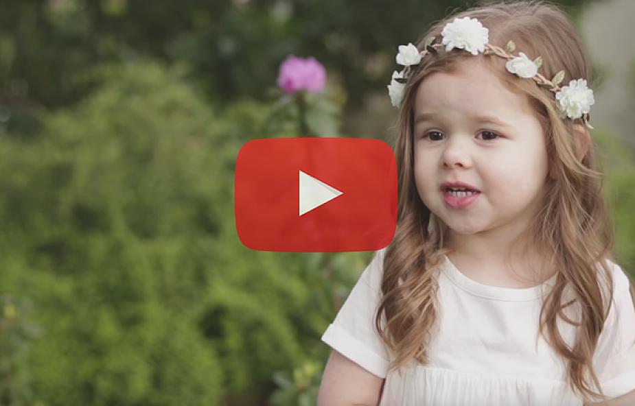 3-latka śpiewa o miłości, jaką obdarzył ją Jezus [WIDEO]