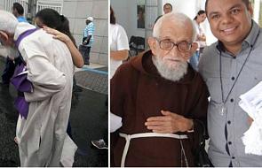 95-letni kapłan przeszedł wiele kilometrów słuchając spowiedzi