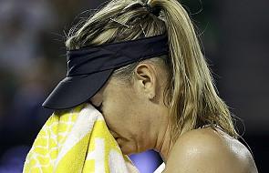 Tenisistka Maria Szarapowa przyłapana na dopingu