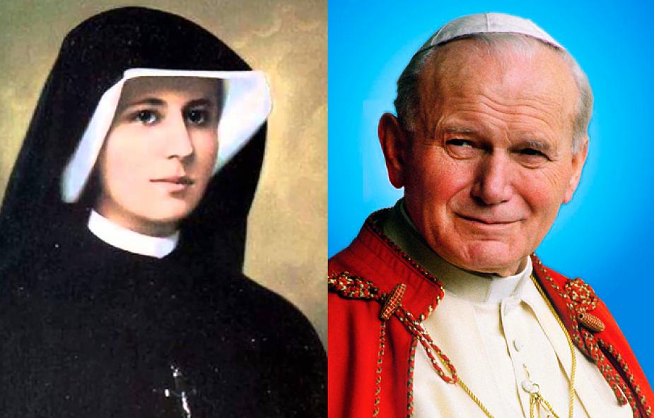 Wyjątkowa modlitwa Jana Pawła II do s. Faustyny