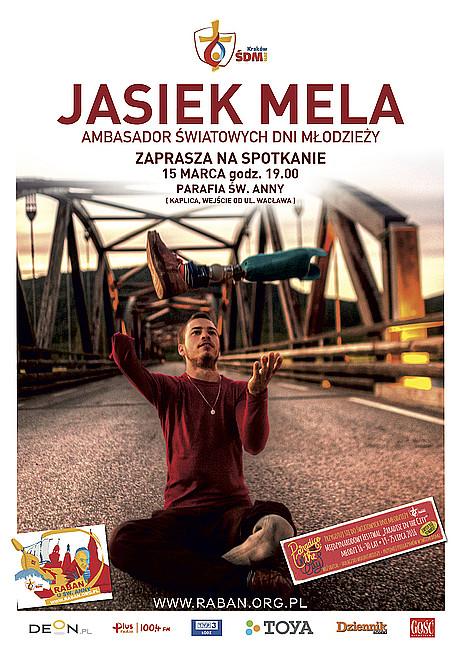 Jasiek Mela zaprasza na spotkanie - zdjęcie w treści artykułu